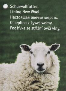 Настоящая овечья шерсть